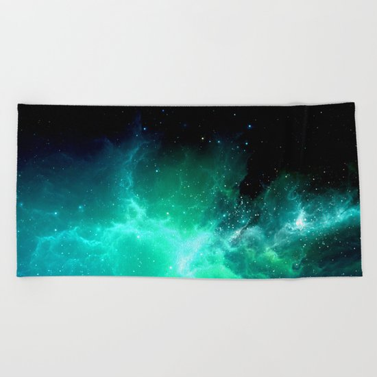 Cosmic Energy Beach Towel