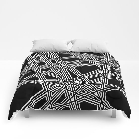 To The Edge #4 Comforters