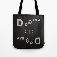Palindrome: Dogma... Tote Bag
