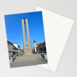 Cluj Memorandum Monument Stationery Cards