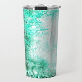 279 3 Turquoise Forest Travel Mug