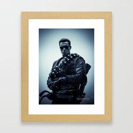 """""""Hasta La Vista, Baby"""" Framed Art Print"""