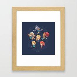 The Cuteness Ballad Framed Art Print