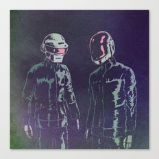 The Robots Canvas Print