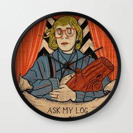 Ask my log Wall Clock