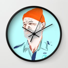 Doc Zissou Wall Clock