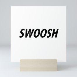 Swoosh Mini Art Print
