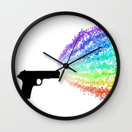 Fight With Love Wall Clock