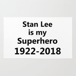 Stan Lee Is My Superhero Rug