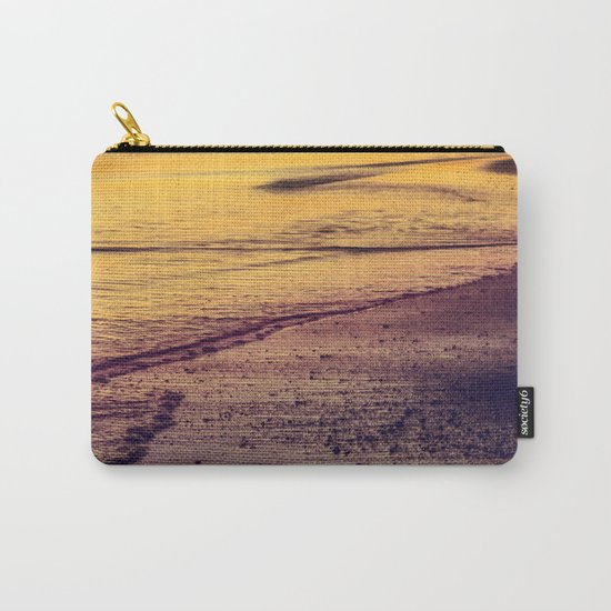 Golden Sunset at Beach Carry-All Pouch