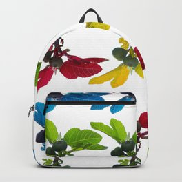 The fig tree plantation in the mediterranean land Backpack