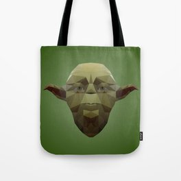 Yoda Low Poly Tote Bag