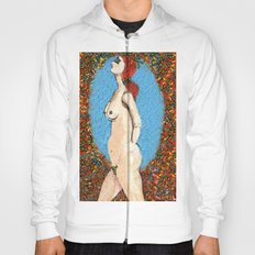 Butterfly Naked Lady Hoody