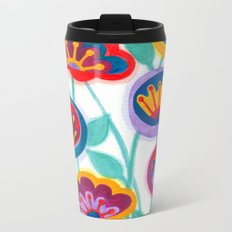raw flower garden Metal Travel Mug