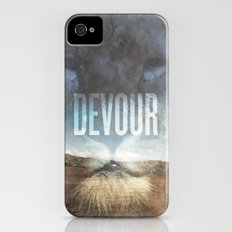 Devour Nature Like A Lion iPhone (4, 4s) Slim Case