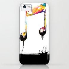 Feelings behind the darkness Slim Case iPhone 5c