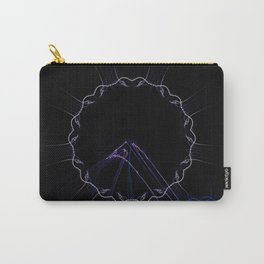 Rings 0002 black Carry-All Pouch