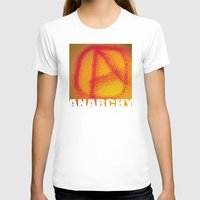 anarchy T-shirts featuring anarchy by XiXi