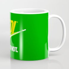 Brand Wars: Jedi - green lightsaber Coffee Mug