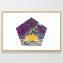 Apollo Lunar Module Framed Art Print