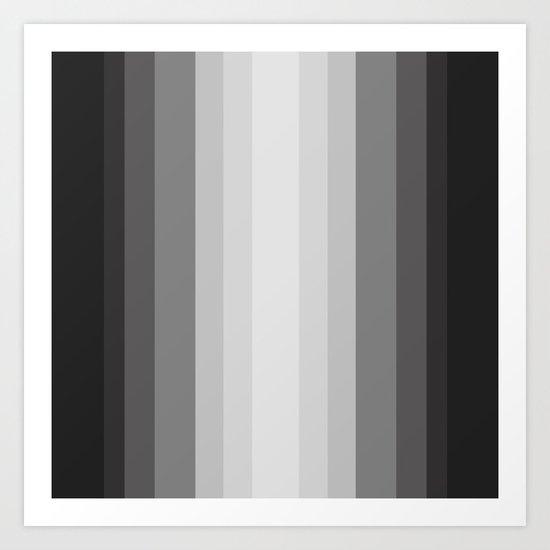 Gray Matter Art Print