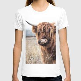 Highland Cow Landscape T-shirt