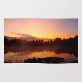 Sunrise - Meditation Pond Rug