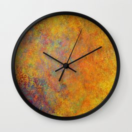 Cosmos Colors Wall Clock