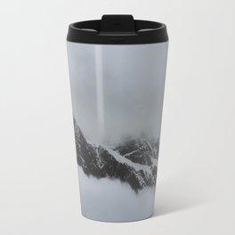 peak through the clouds Travel Mug
