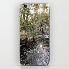 Sturgeon River Canyon in Michigan's Upper Peninsula iPhone Skin