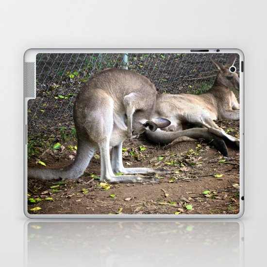 Baby in my Pocket Laptop & iPad Skin
