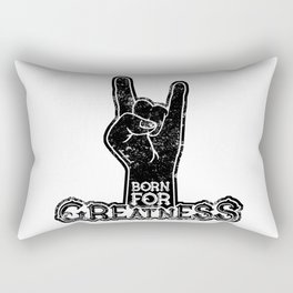 Born for Greatness Rectangular Pillow