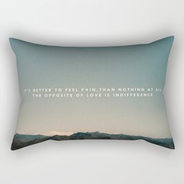 Stubborn Love Rectangular Pillow
