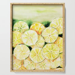 Limes and lemons Serving Tray