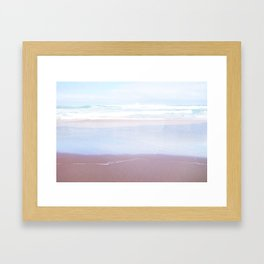 Soft Sandy Beaches Framed Art Print