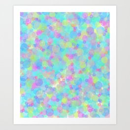 Colorful Time Art Print