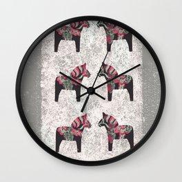 Dalahorses Wall Clock