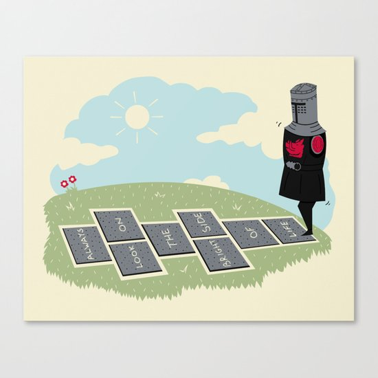 The Optimist Canvas Print