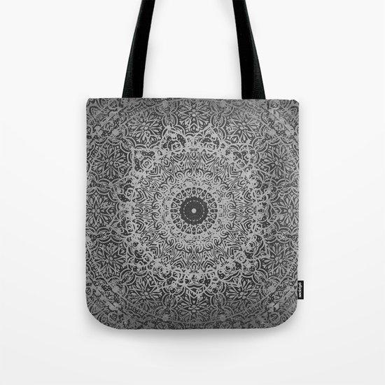 Ash Mandala Tote Bag