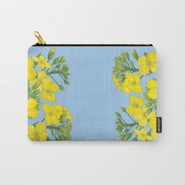 Summer flower in yellow Carry-All Pouch