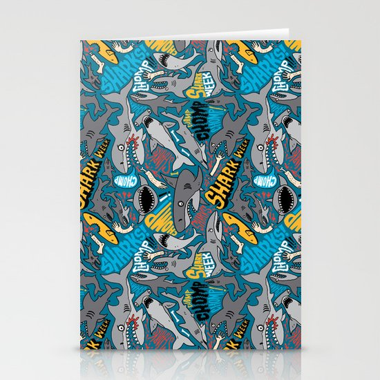 SHARK WEEK! Stationery Cards