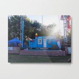 Campground Circus Fun Metal Print