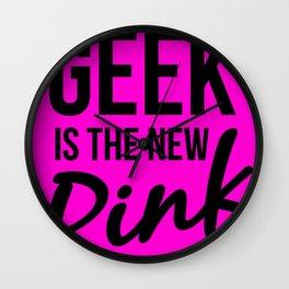 Geek Glam Wall Clock
