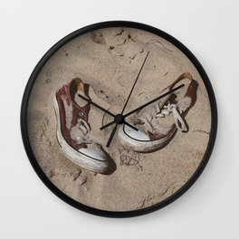 Sand in Your Shoes Wall Clock