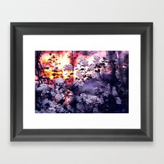 Time to say goodbye Framed Art Print