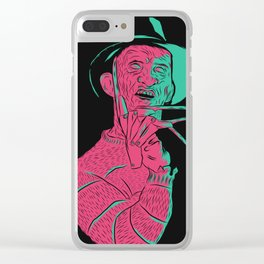 Freddy Kreuger Clear iPhone Case