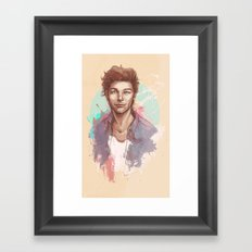 And All His Little Things Framed Art Print