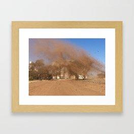 Aussie Dirt Framed Art Print