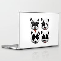kiss Laptop & iPad Skins featuring kiss by mark ashkenazi