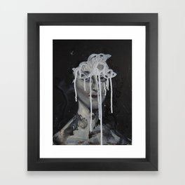 Scribble Framed Art Print